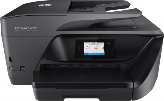 МФУ HP OfficeJet Pro 6970 e-AiO J7K34A цветное A4 30/26ppm 600x1200dpi Ethernet Wi-Fi USB черный