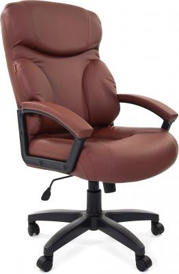 Кресло Chairman 435 LT коричневый 7007493