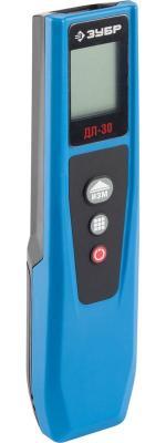 Дальномер Зубр Эксперт лазерный ДЛ-30 компактный точность 2мм дальность 30м 34935