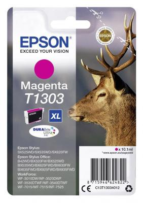 Картридж Epson C13T13034012 для Epson SX525WD/SX535WD/B42WD/BX320FW/BX625FWD/BX635FWD/WF-7015/7515/7525 пурпурный 100% new original printhead print head for epson wf 7525 wf 7521 wf7520 wf 7515 wf 7511 wf 7510 7015 printer head printhead
