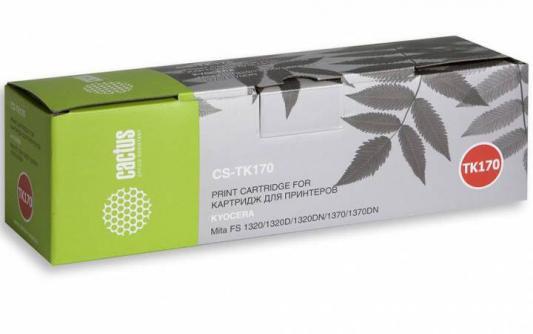 Картридж Cactus CS-TK17 для Kyocera FS1000/1010/1050 черный 6000стр cactus cs lq1000 black картридж ленточный для epson lq 1000 1050 1070 1170 fx lx 1000 1050 1070 1150 1170