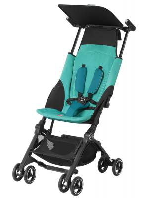 Прогулочная коляска GB Pockit Plus (capri blue) коляска gb коляска прогулочная pockit capri blue