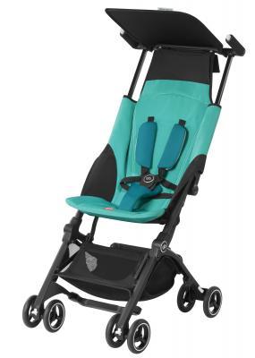 Прогулочная коляска GB Pockit Plus (capri blue) коляска combi combi прогулочная коляска f2 plus blue голубой