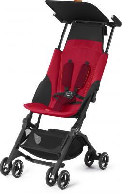 Прогулочная коляска GB Pockit Plus (dragonfire red) коляска прогулочная gb pockit dragonfire red