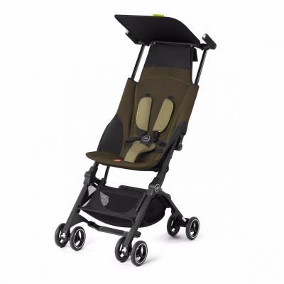 Прогулочная коляска GB Pockit Plus (lizard khaki)