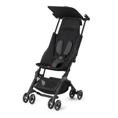 Купить Прогулочная коляска GB Pockit Plus (monnument black), черный, Прогулочные коляски