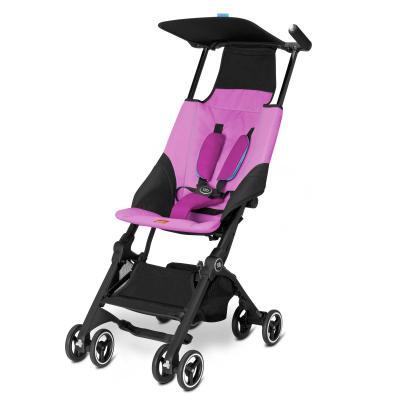 Прогулочная коляска GB Pockit Plus (posh pink) коляска gb коляска прогулочная pockit posh pink