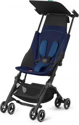 Прогулочная коляска GB Pockit Plus (sea port blue) коляска прогулочная gb pockit capri blue