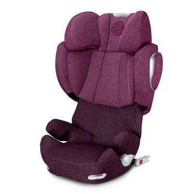 Автокресло Cybex Solution Q3-Fix Plus (mystic pink) автокресло cybex free fix cobblestone