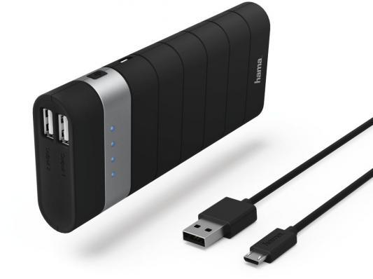 Фото - Портативное зарядное устройство Hama Joy Li-Ion 13000мАч черный 00137494 внешний аккумулятор для портативных устройств hama joy li ion 10400mah черный 137493