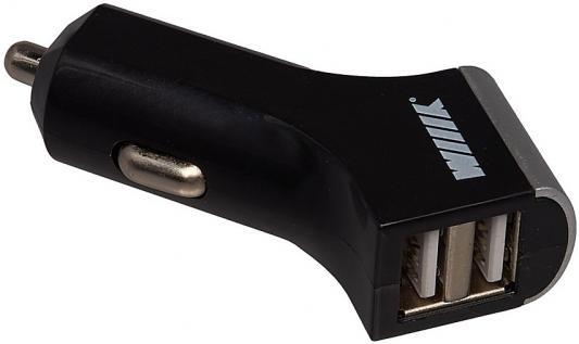 автомобильное-зарядное-устройство-wiiix-ucc-2-14-2-х-usb-21a-черный