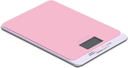 Весы кухонные KITFORT KT-803-2 розовый