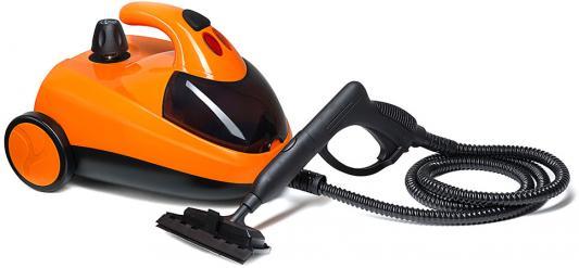 Пароочиститель KITFORT КТ-908-3 1500Вт оранжевый чёрный