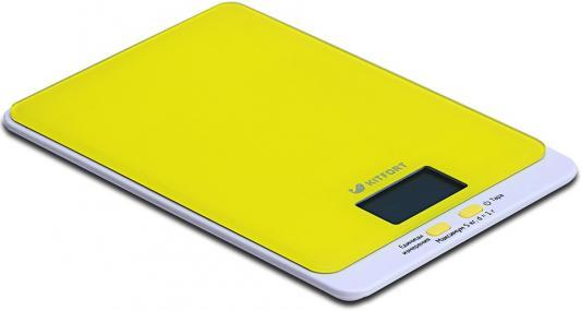 Весы кухонные KITFORT KT-803-4 жёлтый сумка printio 9 мая