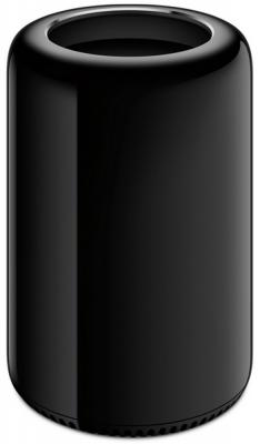 Системный блок Apple Mac Pro Intel Xeon E5-1680 v2 3.0GHz 16Gb SSD 256Gb 2xFirePro D700 12 Gb macOS черный MQGG2RU/A