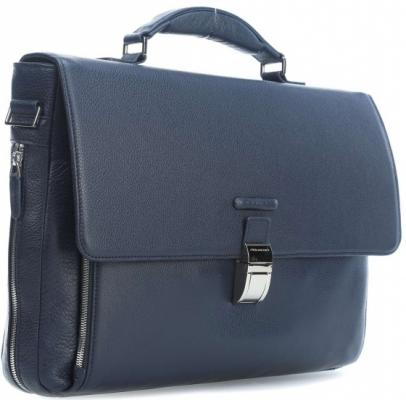 Портфель Piquadro Modus кожа синий CA3111MO/BLU