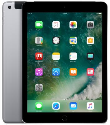 Планшет Apple iPad + Cellular 9.7 32Gb серый LTE Wi-Fi 3G Bluetooth 4G iOS MP1J2RU/A