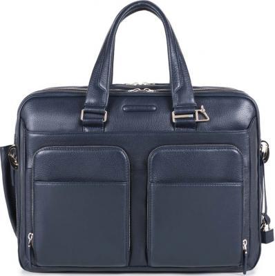 Сумка Piquadro Modus кожа синий CA2765MO/BLU сумка piquadro modus 15 черный
