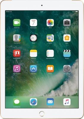 Планшет Apple iPad 9.7 128Gb золотистый Wi-Fi Bluetooth 3G LTE iOS MPG52RU/A apple ipad wi fi cellular 128gb gold mpg52ru a