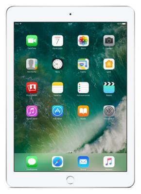 Планшет Apple iPad 9.7 128Gb серебристый Wi-Fi Bluetooth iOS MP2J2RU/A планшет