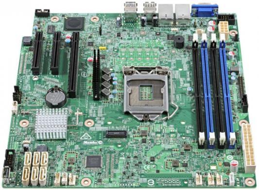 Мат. плата для ПК Intel DBS1200SPSR Socket 1151 C232 4xDDR4 — 1xPCI-E 4x 2xPCI-E 8x 6xSATAIII mATX 951870