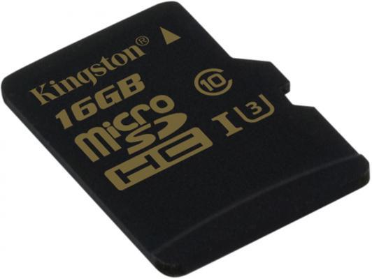 Карта памяти Micro SDHC 16GB Class 10 Kingston SDCG/16GBSP от 123.ru