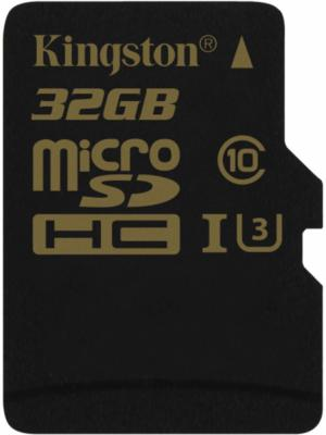 Карта памяти Micro SDHC 32GB Class 10 Kingston SDCG/32GBSP micro securedigital 32gb hc kingston uhs 1 class 10 sdc10g2 32gbsp