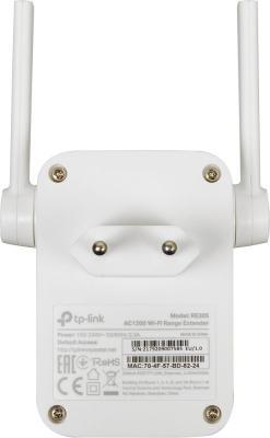 Купить со скидкой Ретранслятор TP-LINK RE305 802.11n 867Mbps 2.4 ГГц 5 ГГц 1xLAN белый