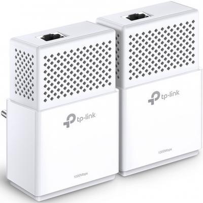 Комплект адаптеров Powerline TP-LINK TL-PA7010KIT powerline адаптер tp link tl pa4010kit tl pa4010kit