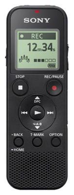 Цифровой диктофон ICD-PX370 4Gb черный диктофон zoom h1 черный