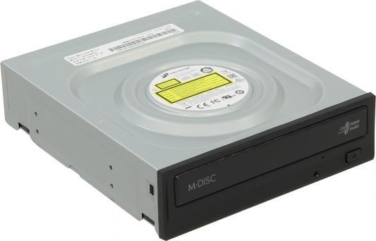 Привод для ПК DVD±RW LG GH24NSD3 SATA черный Retail выносной dvd rw привод