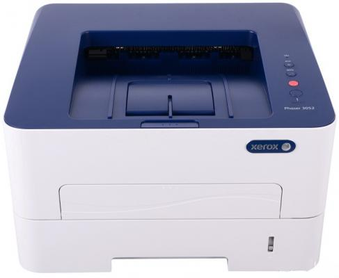 Принтер Xerox Phaser 3052NI ч/б A4 26ppm 1200x1200dpi Ethernet USB