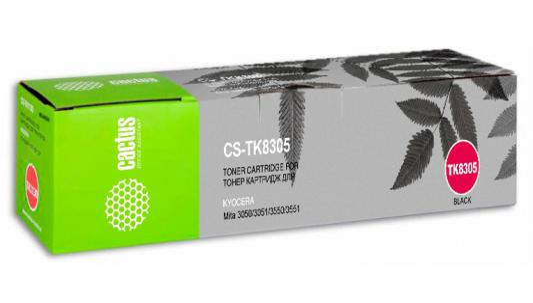 Картридж Cactus CS-TK8305 для Kyocera Mita 3050/3051/3550/3551 черный 25000стр гиперэкстензия body solid grch 322