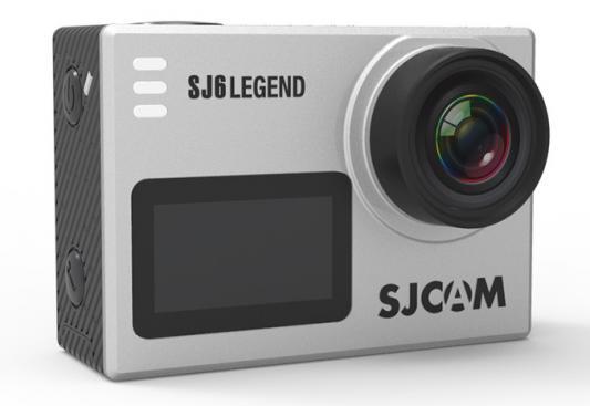 Экшн-камера SJCam SJ6 Legend серебристый sjcam базовый