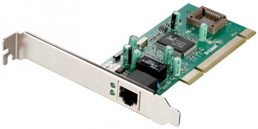Сетевой адаптер D-LINK DGE-530T/10 10/100/1000 Мбит/с сетевая карта для сервера d link dge 560t 10 b1c dge 560t 10 b1c