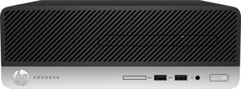 Рабочая станция HP ProDesk 400 G4 Intel Core i3-7100 4Gb SSD 128 Intel HD Graphics 630 использует системную Windows 10 Professional серебристый черный 1JJ61EA