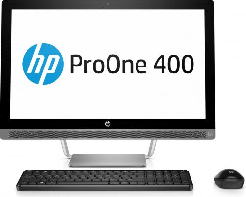 Моноблок 23.8 HP ProOne 440 G3 AiO 1920 x 1080 Intel Core i3-7100T 4Gb 1 Tb Intel HD Graphics 630 Windows 10 Professional серебристый 1KN98EA