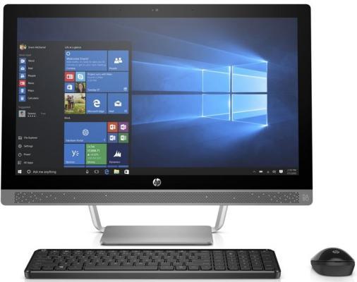 Моноблок 23.8 HP ProOne 400 G3 AiO 1920 x 1080 Intel Core i3-7100T 8Gb 1 Tb 128 Gb Intel HD Graphics 630 Windows 10 серебристый 1QL99ES цена
