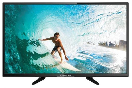 Телевизор FUSION FLTV-32H110T черный телевизор fusion fltv 22k11 черный
