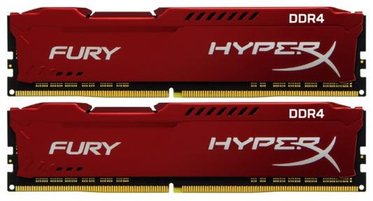Оперативная память 16Gb (2x8Gb) PC4-19200 2400MHz DDR4 DIMM CL15 Kingston HX424C15FR2K2/16