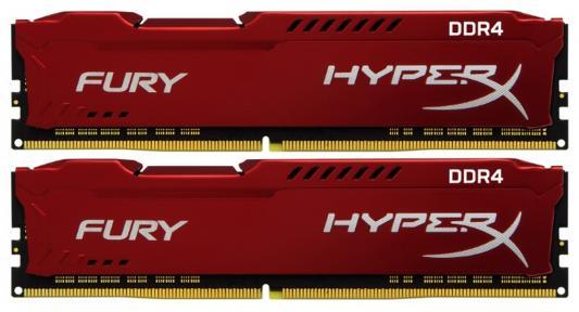 Оперативная память 16Gb (2x8Gb) PC4-19200 2400MHz DDR4 DIMM CL15 Kingston HX424C15FR2K2/16 цена и фото