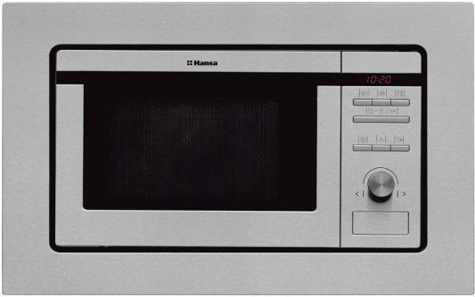 СВЧ Hansa AMM20BEIH 800 Вт серебристый электроплита hansa fccw 54002