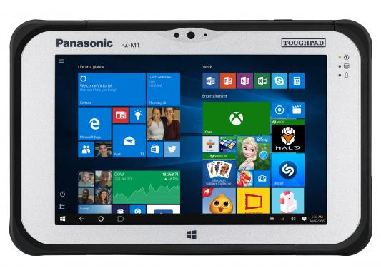 "Планшет Panasonic FZ-M1 7"" 128Gb белый Wi-Fi 3G Bluetooth LTE Windows FZ-M1F150CT9"