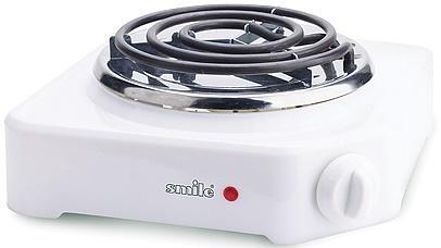 Электроплитка Smile SEP 9007 белый электроплитка tristar kp 6245 белый