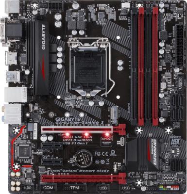 Фото - Материнская плата GigaByte GA-B250M-GAMING 3 Socket 1151 B250 4xDDR4 2xPCI-E 16x 2xPCI-E 1x 6 mATX Retail gigabyte ga ab350m gaming 3