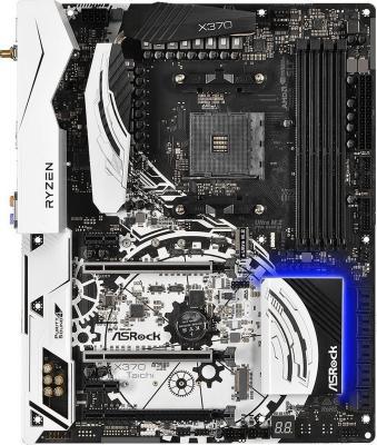 Мат. плата для ПК ASRock X370 TAICHI Socket AM4 AMD X370 4xDDR4 2xPCI-E 16x 3xPCI-E 1x 8xSATAIII ATX Retail куплю материнскую плату socket 775 p43