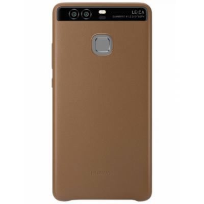 Чехол Huawei для Huawei P9 коричневый 51991471