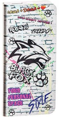 Портативное зарядное устройство Black Fox BMP040F 4000мАч граффити защитная плёнка на пороги mazda для mazda cx 5 2017