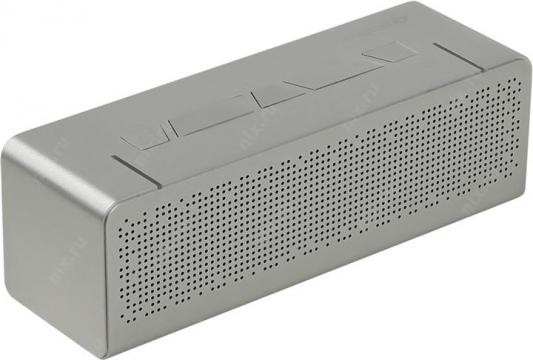 Портативная акустика Microlab T5 20Вт Bluetooth серебристый