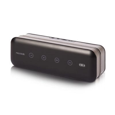 Фото Портативная акустика Microlab MD663BT 6Вт Bluetooth черный гарнитура microlab k767p черный